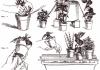 Как организовать полив комнатных растений в отъезде рисунок