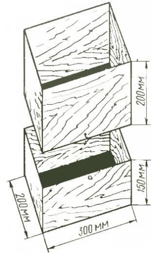 Разъемный ящик-растильня для выгонки салатного цикория