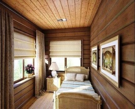 Как сделать маленькую комнату на даче просторнее