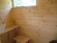 Каркасная баня, построенная своими руками